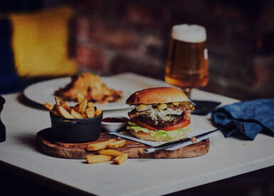 Burger & Beer for £15