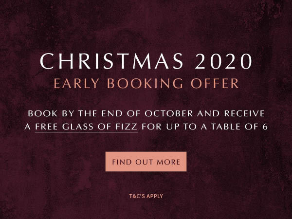 Free Glass of Fizz for Early Bookings